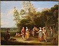 The Village Party by Pieter Angillis, 1727, oil on canvas - Portland Art Museum - Portland, Oregon - DSC09089.jpg