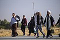 The clergymen on the arbane hike روحانیت در پیاده روی اربعین 01.jpg
