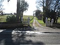 The entrance and road to Edenbank Farm - geograph.org.uk - 1220780.jpg