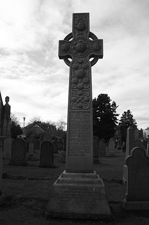 Chrystal Macmillan - The grave of Chrystal MacMillan, Corstorphine churchyard, Edinburgh