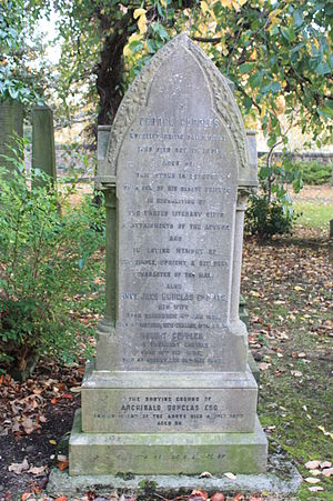 Anne Jane Cupples - The grave of George and Anne Jane Cupples, Dalry Cemetery, Edinburgh