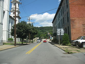 Pennsylvania Route 664 - PA 664 begins at PA 120 in Lock Haven