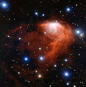 RCW Catalogue - Image: The star forming cloud RCW 34