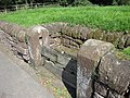 The stocks at Aldford - geograph.org.uk - 1614596.jpg