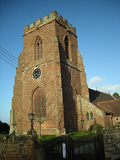 The tower of All Saints Church. - geograph.org.uk - 711823.jpg
