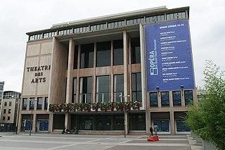 Rouen Opera House opera house in Rouen, France, built 1952-1962
