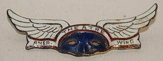 American Theatre Wing - American Theatre Wing lapel pin