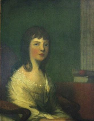 Theodosia Burr Alston - 1794 portrait by Gilbert Stuart