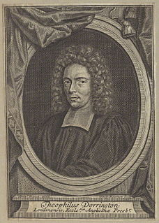Theophilus Dorrington English priest