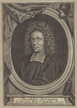 Theophilus Dorrington - Theophilus Dorrington, 1703 engraving by Gaspar Bouttats