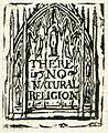 There is No Natural Religion, copy C c 1794 Library of Congress object 2.jpg