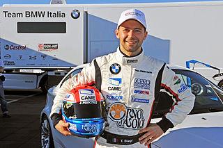 Thomas Biagi Italian racecar driver