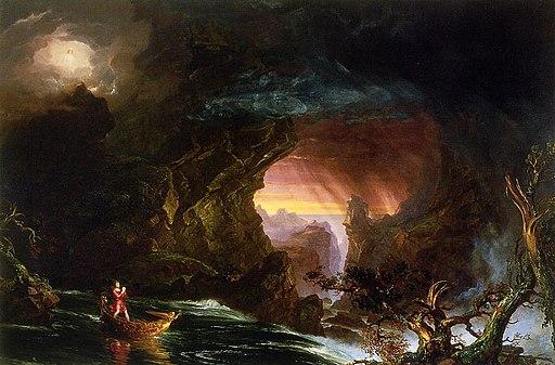 Thomas Cole - The Voyage of Life Manhood, 1840 (Munson-Williams-Proctor Arts Institute)