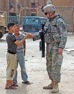 Thumb war in Iraq