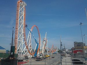 Thunderbolt (2014 roller coaster) - Under construction
