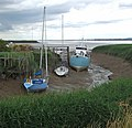 Tidal Moorings at Ferriby Sluice - geograph.org.uk - 1392052.jpg