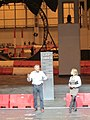 Tiff Needell and Vicki Butler from The Fifth Gear at Top Gear Live (Ank Kumar) 01.jpg