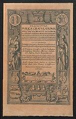 Titelplaat voor de Blijde Intrede van aartshertog Ernst van Oostenrijk te Antwerpen in 1594