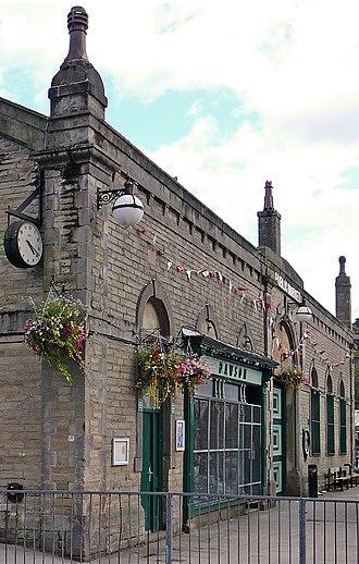 Todmorden - Todmorden Market Hall