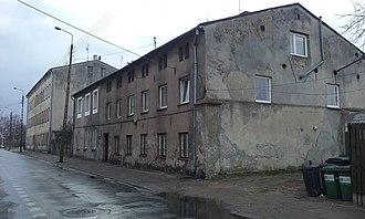 Oskar R. Lange - Tomaszów Mazowiecki, Farbiarska 7 Street - place of birth