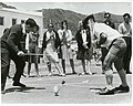 Top spinning and stilt racing, 1966.jpg