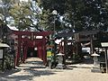 Toriis of Aoi Inari Shrine and Miyajidake Shrine in Aoi Aso Shrine 2.jpg
