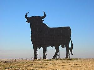 Osborne bull - Osborne bull in Las Cabezas de San Juan, Spain.