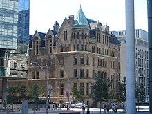 Toronto Police Department Headquarters From 1931 To 1960
