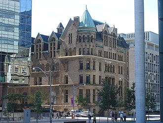 Toronto Police Headquarters - Toronto Police Department Headquarters from 1931 to 1960