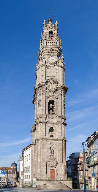 Clérigos Church - Clérigos tower