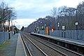 Towards Liverpool, Halewood railway station (geograph 3819922).jpg