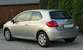 Toyota Auris - Pre-facelift: Toyota Auris 1.6 3-door (Germany)