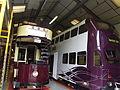 Tram Depots (Workshop) - National Tramway Museum - Crich - London County Council 106 & Blackpool 711 (15197325690).jpg