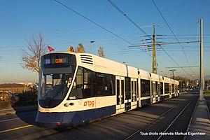Canton of Geneva - Transports Publics Genevois tram
