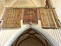 Transylvanian Bird and Lotto rugs from the Monastery Church in Sighisoara.jpg