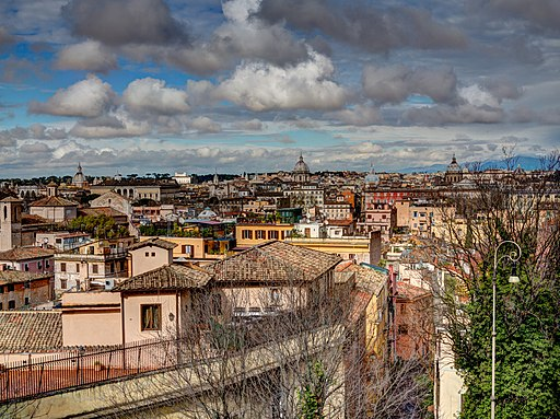 Trastevere Roma Via Garibaldi 2013 03