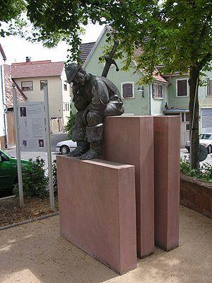 Palatine Peasants' War - Memorial to the fallen peasants in Nußdorf
