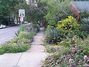 Road verge - Image: Treelawn 1
