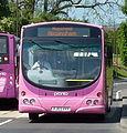 Trent Barton bus 609 (FJ03 VVX) 2003 Scania L94UB Wrightbus Solar, Glapwell, 20 May 2011.jpg