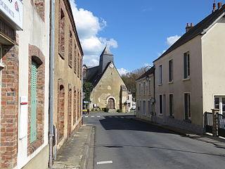 Tresson Commune in Pays de la Loire, France