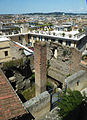 Trevi - resti del tempio di Serapide dalla vetrata delle Scuderie del Quirinale P1010753.jpg