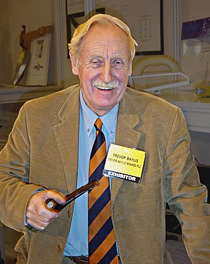 Trevor Baylis - Trevor Baylis at the DIY and Garden Show in Earls Court, London, January 2006