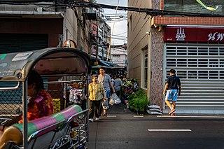 Trok Mo Market market in Bangkok, Thailand