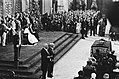 Troonswisseling 30 april , inhuldiging in Nieuwe Kerk overzicht, Bestanddeelnr 930-8053.jpg