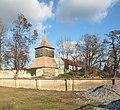 Tuřany (Kladno District), zvonice a kostel (002).JPG