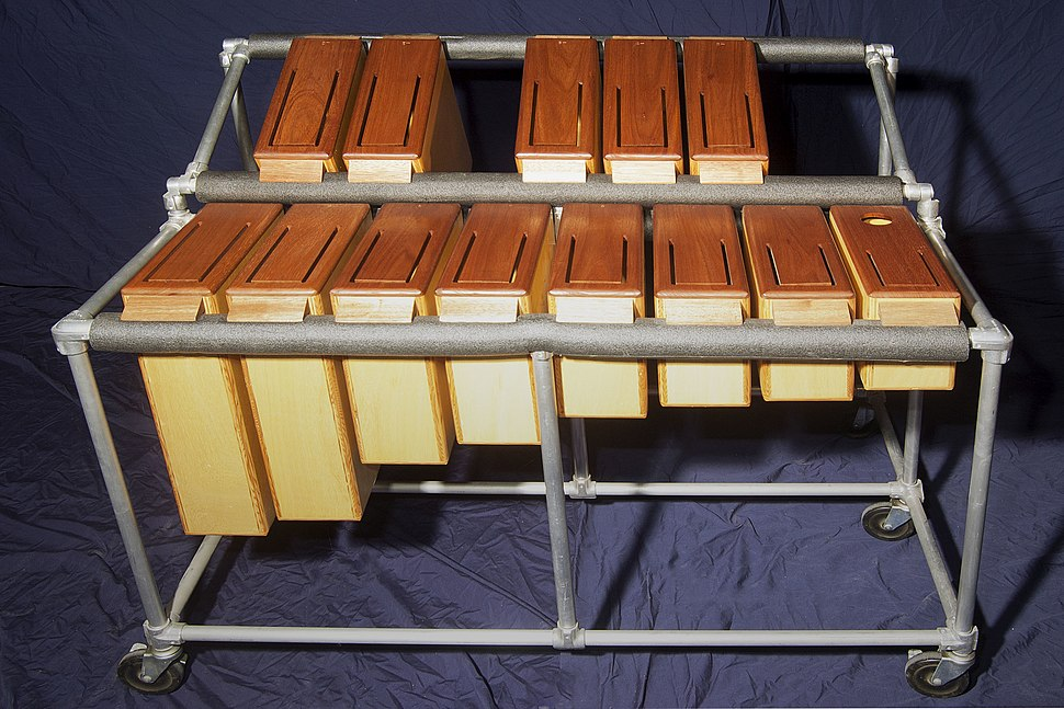 Tuned log drums (from Emil Richards Collection)