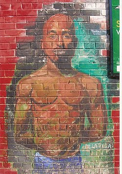 Graffiti of Tupac Shakur