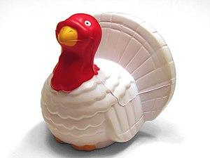 Turkey-Shaped Foam Stress Reliever