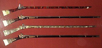 Janissaries - Janissary rifles from 1826.