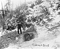 Two miners digging a mining shaft, probably Yukon Territory, circa 1899 (AL+CA 3002).jpg